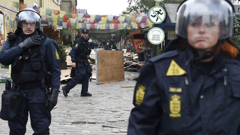 Arkivfoto fra aktion på Pusher Street