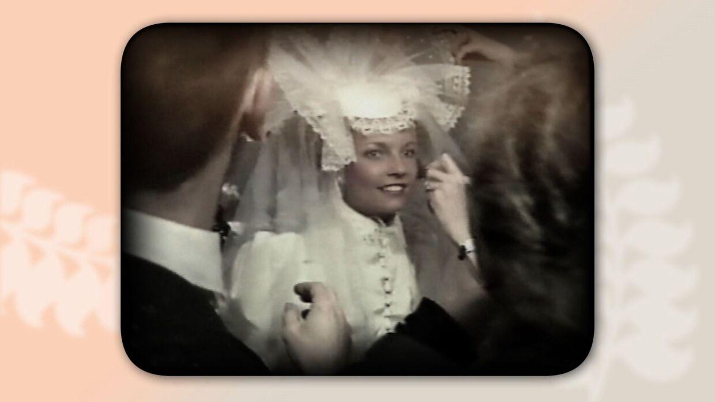 Janni og Simon Spies blev gift i 1983. Simon Spies forevigede dagen, så han kunne vise en film til sin mor, der ikke kunne deltage i brylluppet.