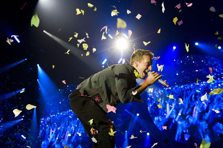 Coldplay i Parken
