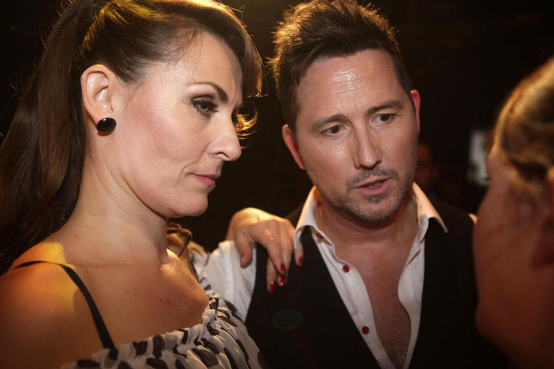 Vild med Dans 2011 - fgørelsen - Kaya Brüel og Steen Lund bliver stemt ud i Vild med Dans 2011 fredag aften d.28. oktober 2011. (Foto: Camilla Rønde/Scanpix 2011).
