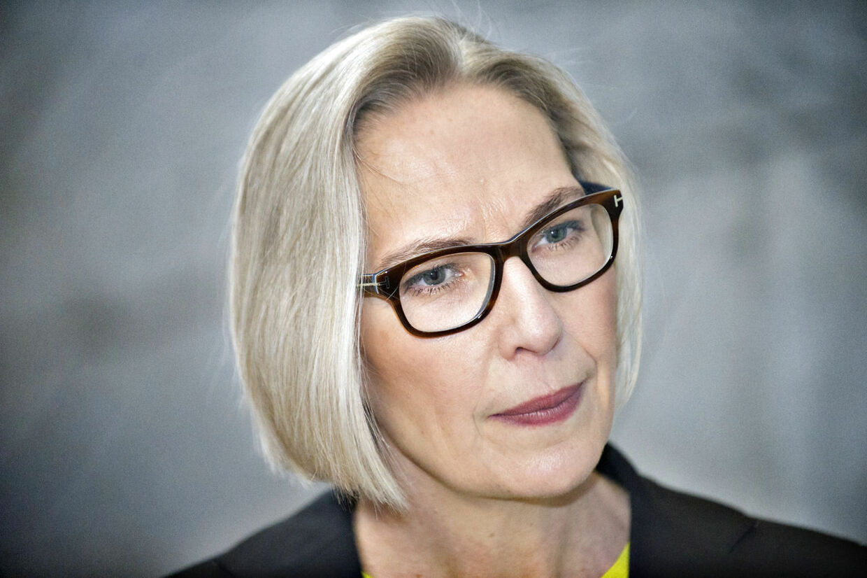 ARKIV. Sparerunde i DR. Direktør i DR Maria Rørbye Rønn (Jens Nørgaard Larsen/Scanpix 2014)