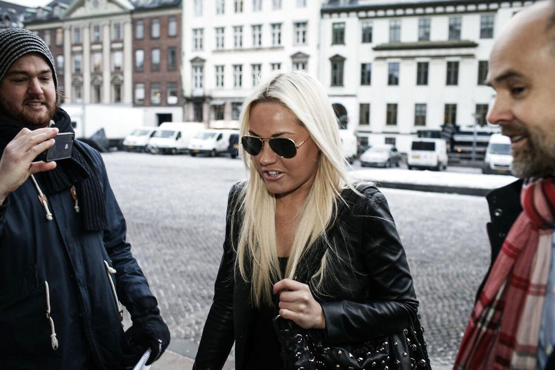 Amalie Szigethy møder i retten d. 22. januar.