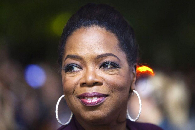 Oprah Winfrey fløj ind i Danmark i ly af mørket.