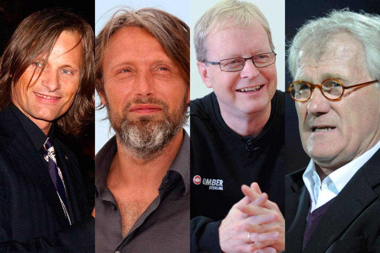 Bl.a. Mads Mikkelsen, Morten Olsen, Ulrik Wilbek og Viggo Mortensen er blevet slået til riddere.