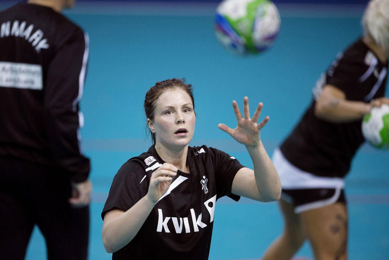 Lotte Grigels deltagelse ved håndbold-EM er slut.