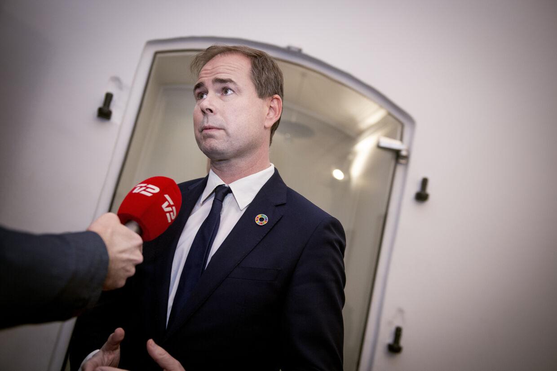 Finansminister Nicolai Wammens (S) ministerium gav forkerte oplysninger til Folketinget om EU-budget. (Arkivfoto). Liselotte Sabroe/Ritzau Scanpix