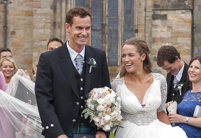 Parret blev gift i 2015.