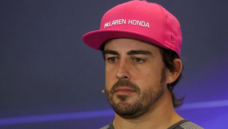 Fernando Alonso havde store udfordringer med Honda-motoren, da han kørte for McLaren.