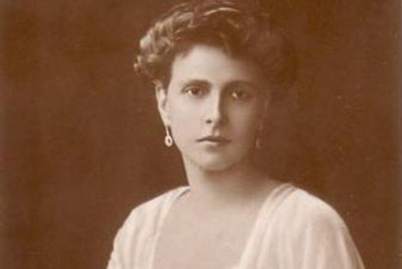 Prinsesse Alice fotograferet kort efter brylluppet med prins Andreas.