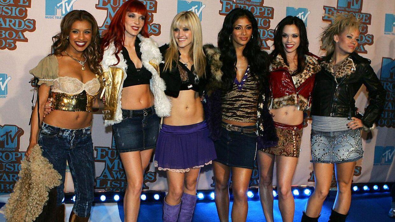 Pussycat Dolls mens gruppen var på toppen i 2005. Nu er der en genforening på vej, men det bliver uden Melody Thornton (t.v.).