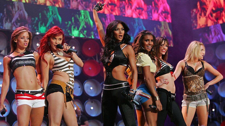 Pussycat Dolls kan til næste år opleves i ni koncerter på tværs af England og Irland. Denne gang uden Melody Thornton (tredje fra højre).
