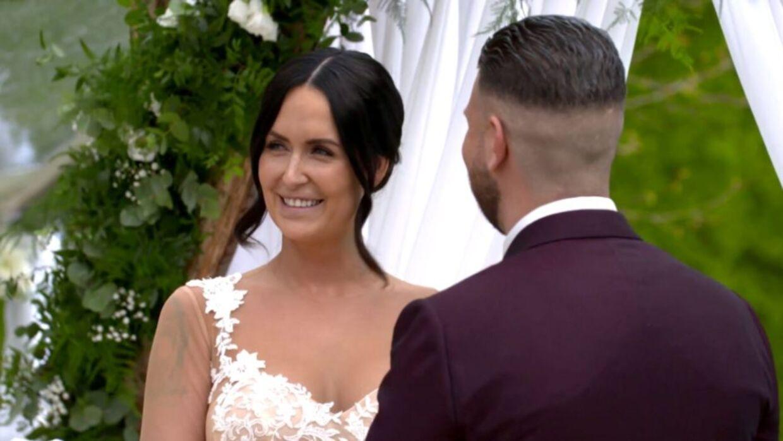 Endelig fik Geggo og Cengiz lov til at være mand og kone. (Foto: TV3)
