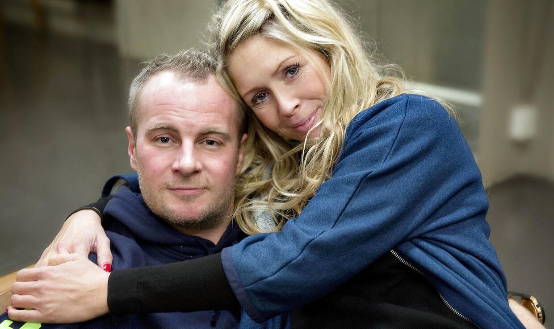 Uffe Holm og Karina Frimodt i 2013.