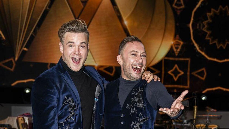 Silas Holst og Jakob Fauerby er hos Danske Spil favorit til at vinde sæsonens udgave af 'Vild med dans'.