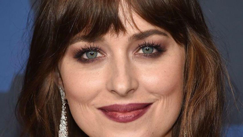 30-årige Dakota Johnson gæstede tidligere på ugen tv-programmet 'The Ellen DeGeneres Show'.