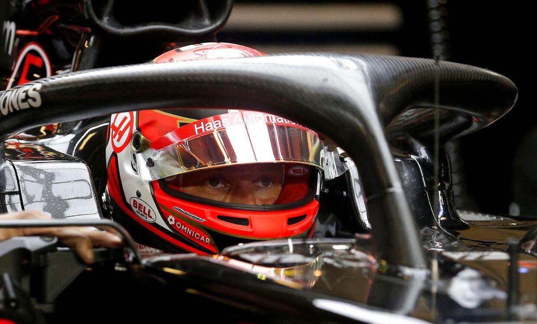 Kevin Magnussen rundede sæsonen af i Abu Dhabi.