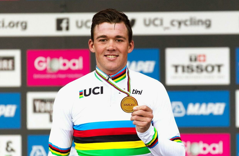 22-årige Mads Pedersen vandt i september VM i landevejscykling.