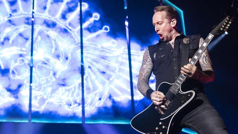 Volbeat i Royal Arena søndag aften.
