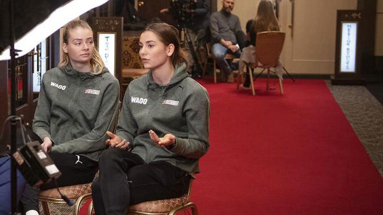 Althea Rebecca Reinhardt (tv.) og Mie Enggrob Højlund (th.).