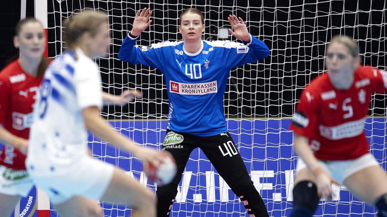 Althea Reinhardt er lige nu til VM med landsholdet.