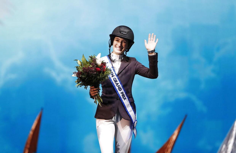 En glad vinder i Stockholm, Jessica Springsteen.