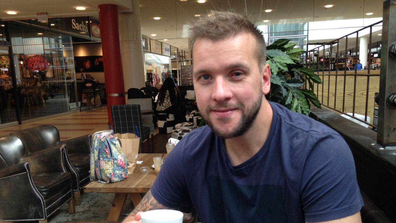 Den tidligere landsholdsback Kasper Jensen er klar efter to øjenoperationer og 15 ugers pause. Foto: PETER FREDBERG