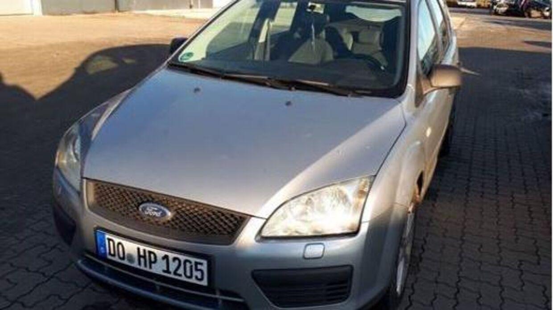 Politiet søger vidner, der har set denne tysk indregistrerede Ford Focus i eller omrking Hjørring.
