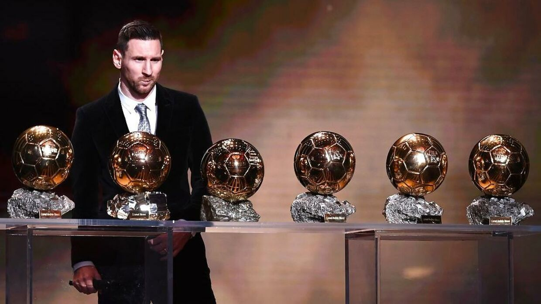 Jo, den er god nok, Lionel Messi. Du har vundet Ballon d'Or seks gange.