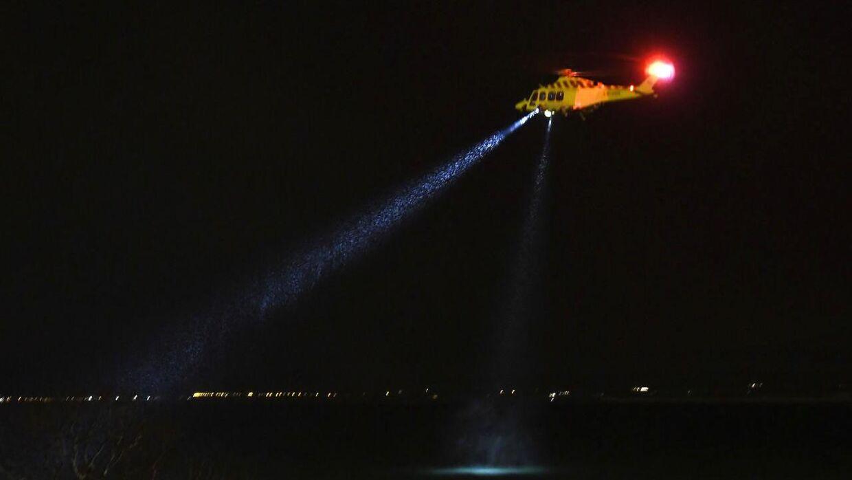 Her ses et billede fra redningsaktionen.