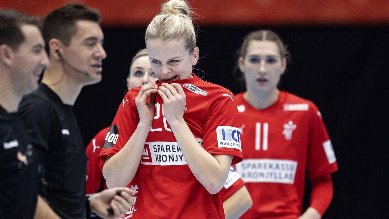 Danmark tabte med 25-26 til Tyskland ved VM.