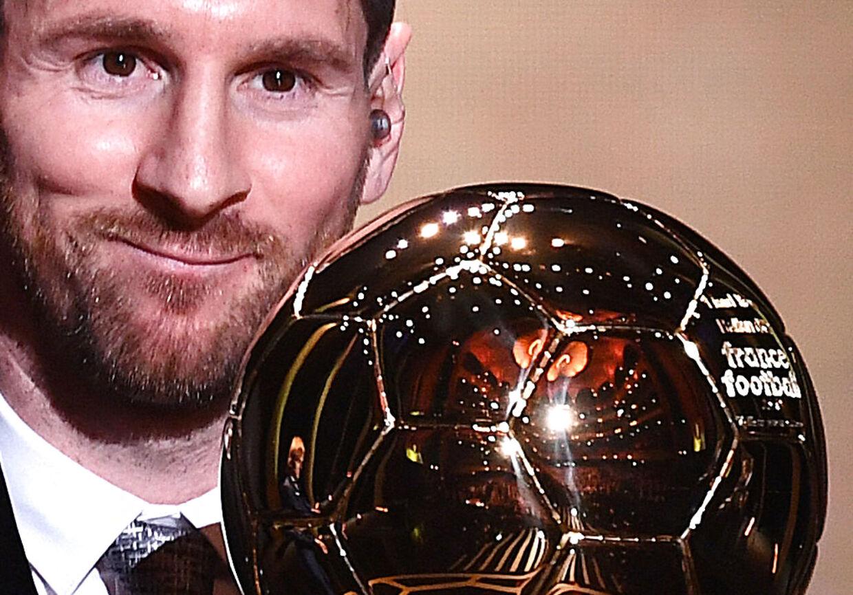 Lionel Messi vandt mandag aften sin sjette Ballon d'Or.