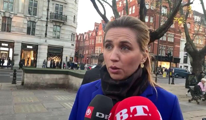 Mette Frederiksen er enig med Donald Trump i, at Danmark skal påtage sig et større ansvar i forhold til Nato.