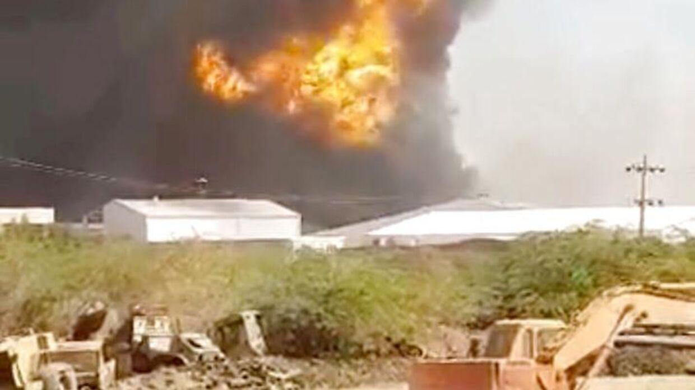 23 personer er omkommet i forbindelse med eksplosionen i Sudans hovedstad.