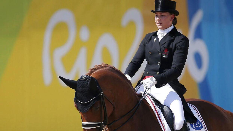 Cathrine Dufour under OL i Rio 2016.