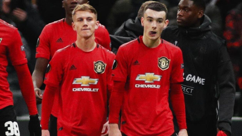 Unge, slukørede United-spillere forlader banen i Kasakhstan efter nederlaget til Astana