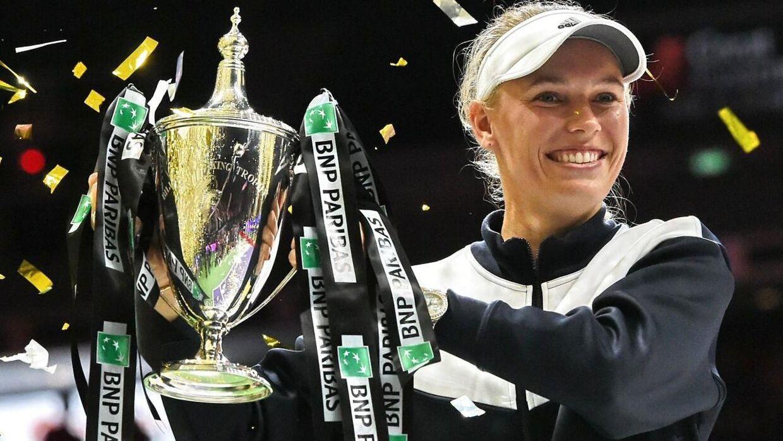 Caroline Wozniacki vandt Tour Finals i 2017 med sejr over stjernen Venus Williams.