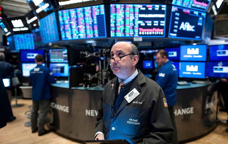 Ansatte i den finansielle sektor, som her på Wall Street, gør klogt i at omstille sig til at arbejde med algoritmer.