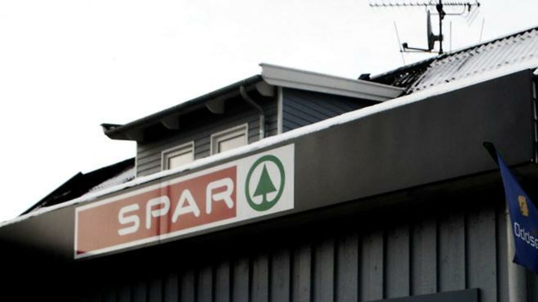 Arkivfoto af Spar købmandsforretning. Det er ikke butikken på Døesvej i Holstebro på billedet.