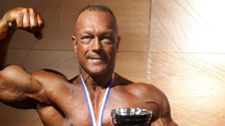 Johnny Tretow Loof vandt VM i bodybuilding i søndags for Masters over 55 år.