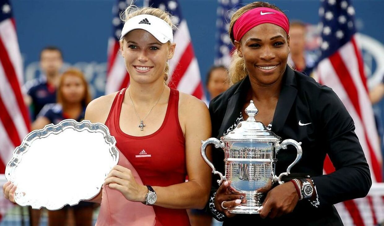 Caroline Wozniacki tabte i september 2014 finalen ved grand slam-tennisturneringen US Open til Serena Williams.