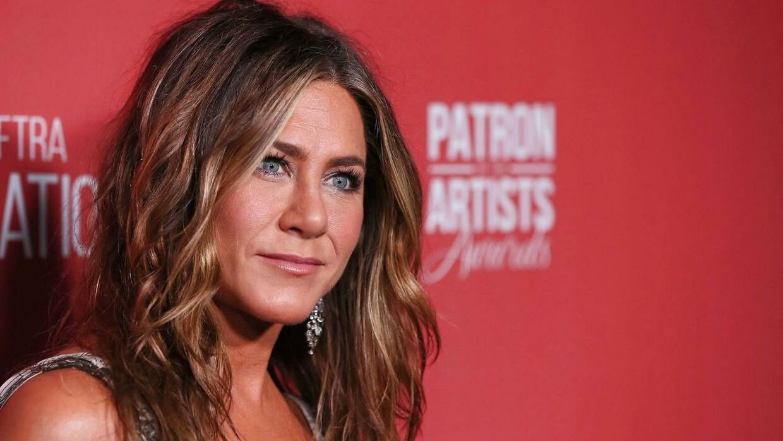 Den kendte skuespiller Jennifer Aniston blev rørt til tårer i et talkshow, efter hun hørte en følelsesladet beretning fra en seer. Arkivfoto.