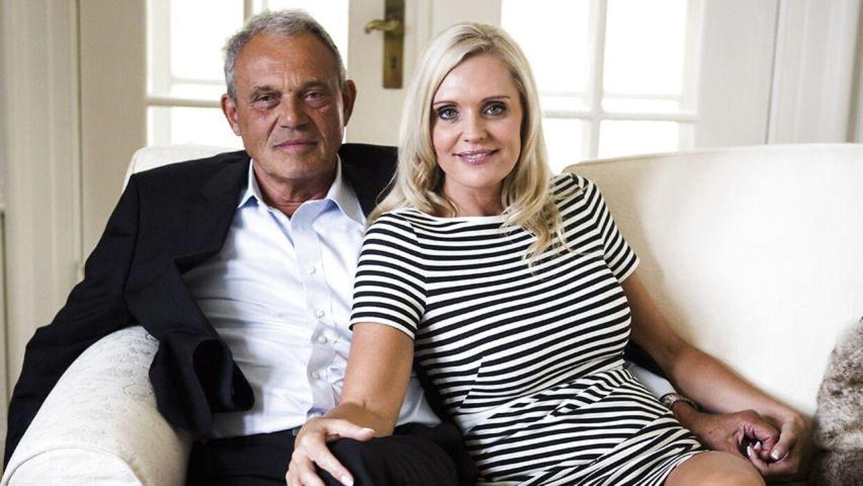 Janni Ree med sin mand, Karsten Ree.