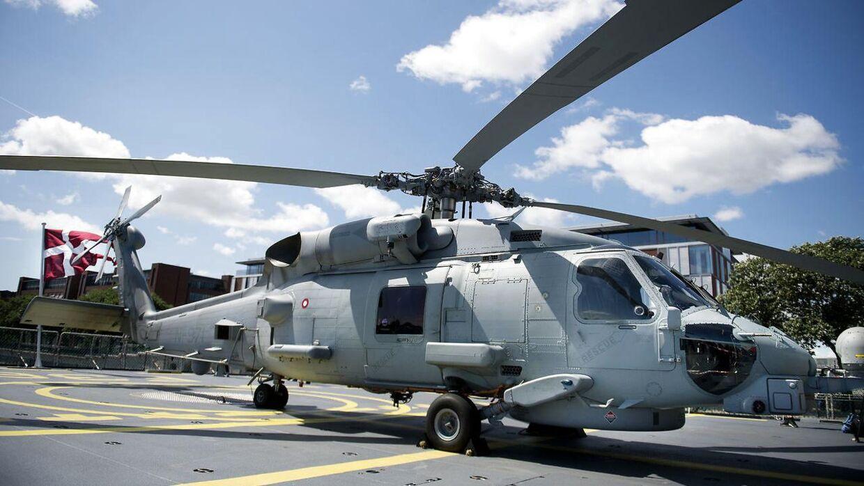 En af Forsvarets helikoptere. ARKIVFOTO.