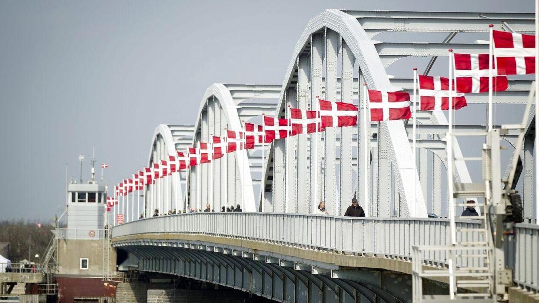 Oddesundbroens da den fejrede jubilæum i 2013.