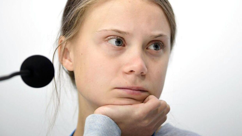 Greta Thunberg fotograferet 9. december.