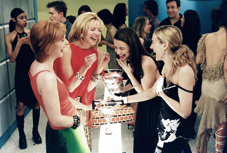 Sex and the city viste os vejen til en sjovere liv, hvor alkohol ofte var en del af festen
