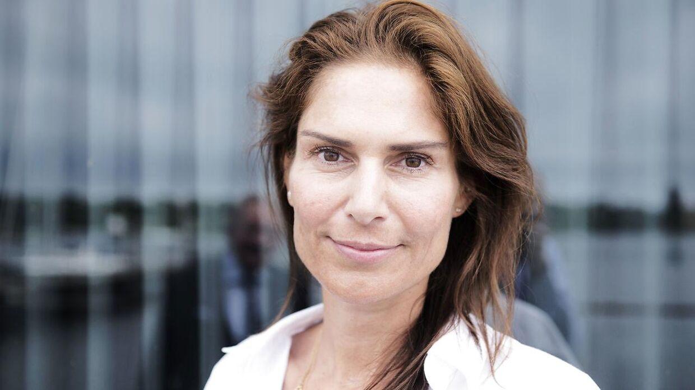 Den nu forhenværende adm. direktør i Harboe Bryggerierne Karina Harboe Laursen.