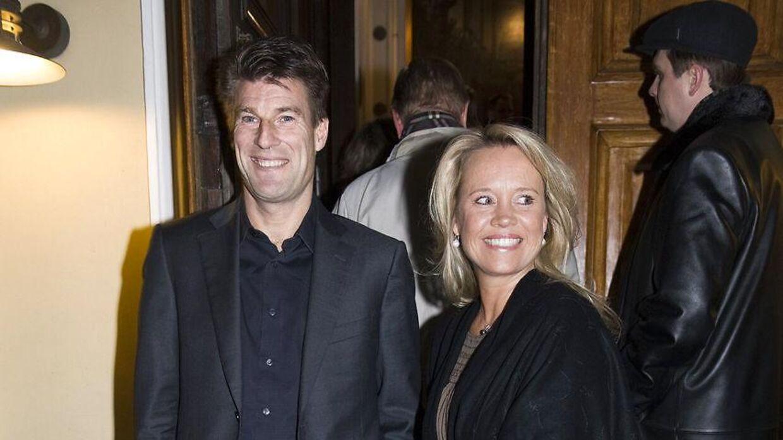 Michael Laudrup og hans kone, Siw, har børnene Mads, Andreas og Rebecca.