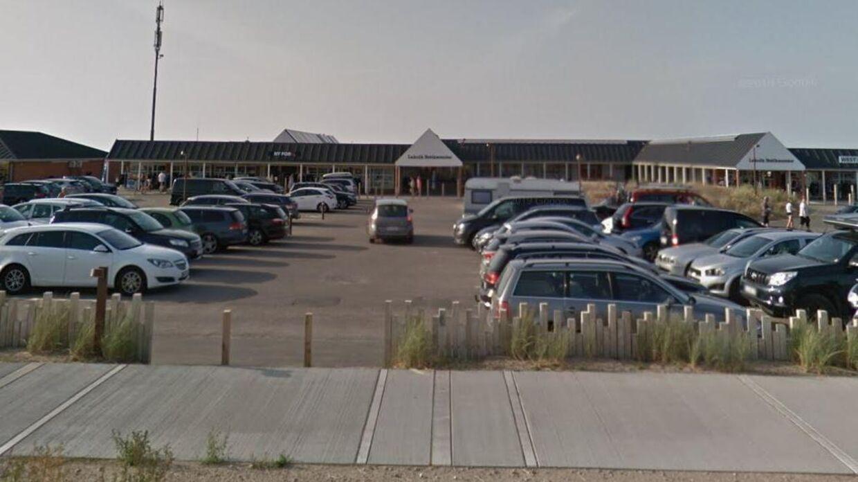 Lakolt Butikscenter lagde loft til et spektakulært indbrud.