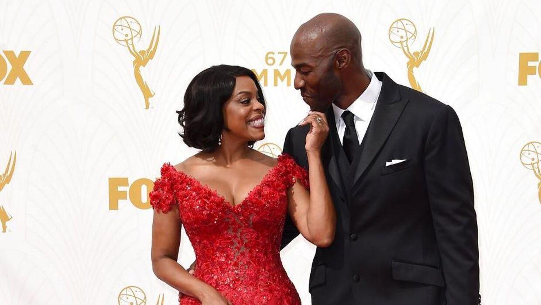 Sådan så parret ud, mens de stadig var lykkeligt gift. Her er de sammen ved den 67. udgave af Emmy Awards i september 2015.